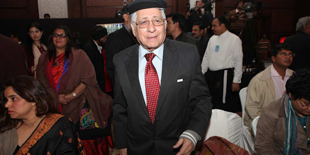 File photo of former solicitor general of India Soli Sorabjee.