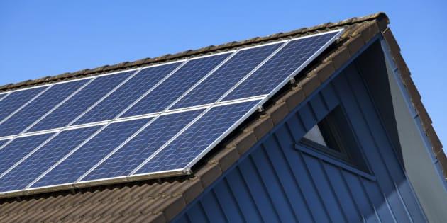 太陽光パネルのイメージ写真