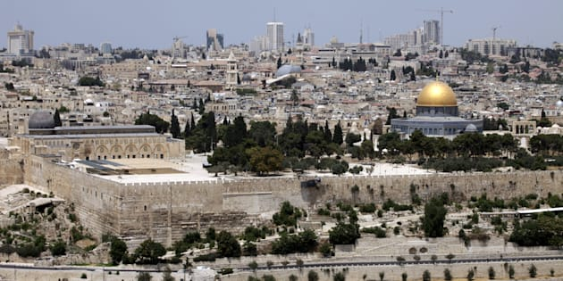 A general view of Al-Aqsa Mosque
