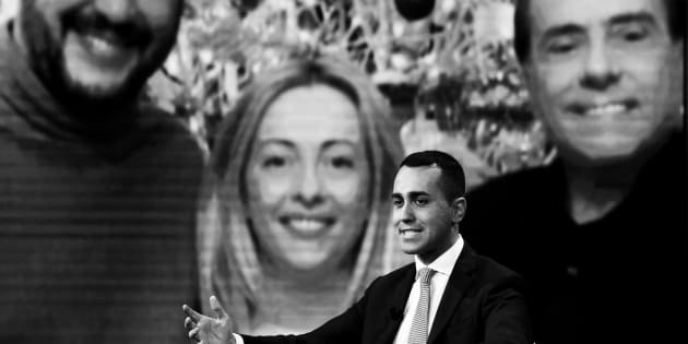 ROME, ITALY - JANUARY 09: Five Stars Movement candidate Luigi di Maio attends Talk Show Porta a Porta at RAI's brodcasting studios on January 9, 2018 in Rome, Italy. Italy is set to hold a general election to form a new government on March 4, 2018. (Photo by Alessandra Benedetti - Corbis/Corbis via Getty Images)