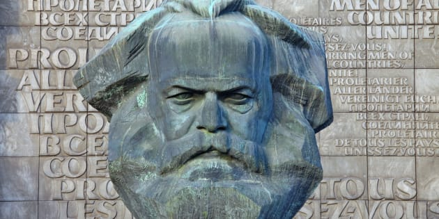Monumento a Karl Marx en Chemnitz, estado federado alemán de Sajonia.