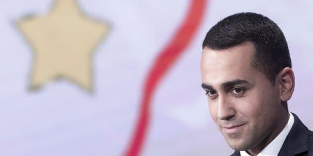 Luigi Di Maio, candidato del Movimiento 5 Estrellas para las elecciones italianas.
