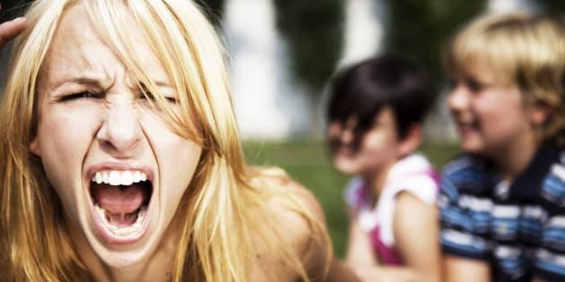 J'ai hurlé sur mes enfants, je suis une mère, pas un héros