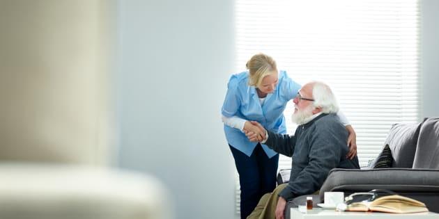 Je ne supporte plus ce qu'il se passe dans les maisons de retraite, j'ai démissionné  (Photo d'illustration)