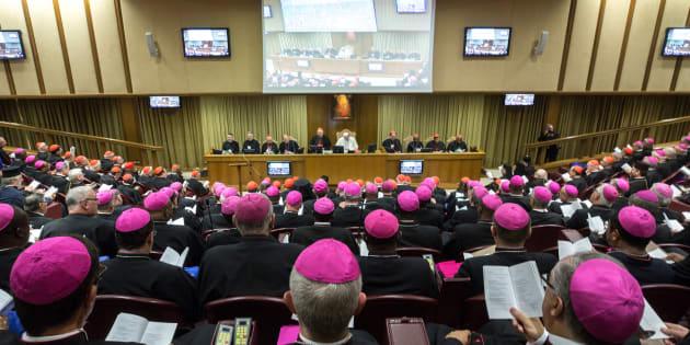 O papa Francisco na sessão de abertura da Assembleia Geral Ordinária do Sínodo dos Bispos sobre a Juventude, a Fé e o Discernimento, em 3 de outubro de 2018, na cidade do Vaticano, Vaticano.