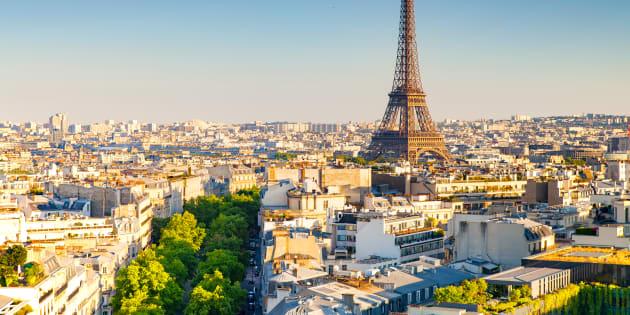 Une vue aérienne de Paris (photo d'illustration).