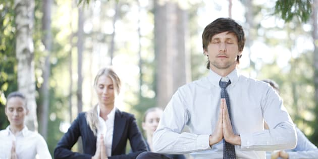 Yoga at work might be great for some people but others might not appreciate it being a 'work thing.'