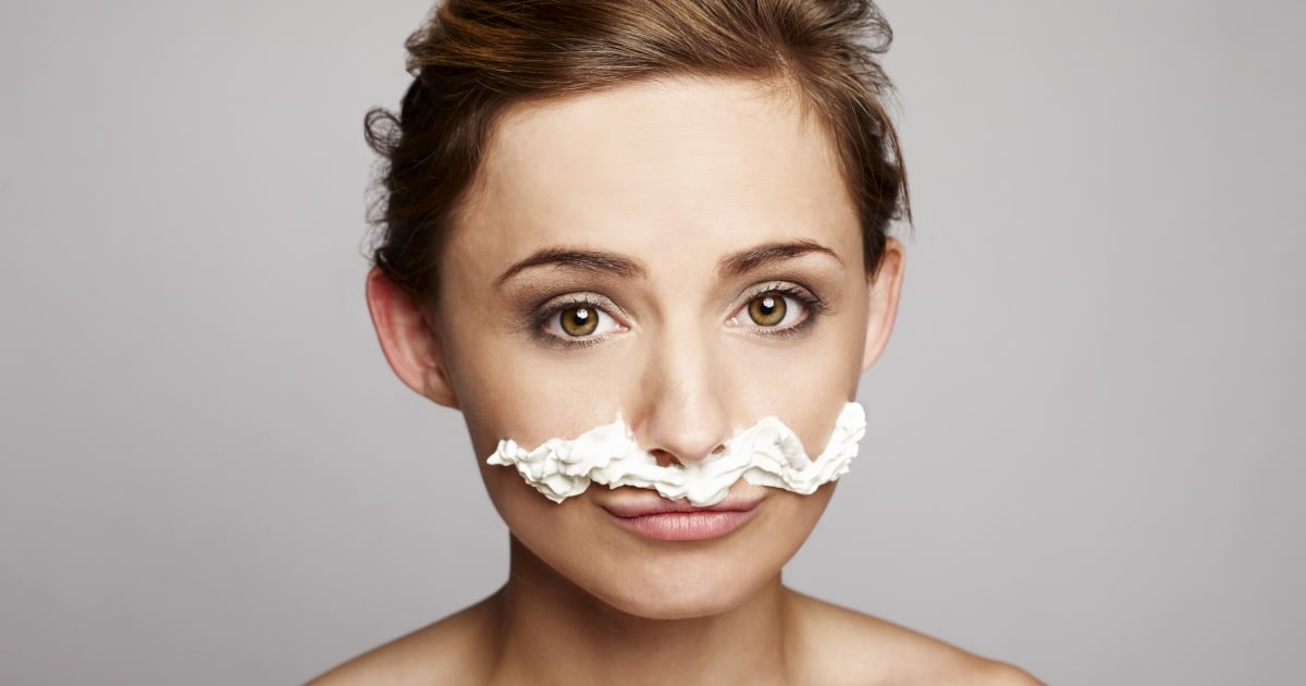 how to get rid of facial hair for girls