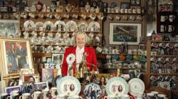 Una mujer convierte su casa en un templo dedicado a la Familia Real