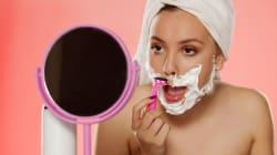 Muchas mujeres se rasuran la cara (y es lo mejor que tú también puedes