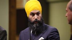 Jagmeet Singh annule sa visite au Saguenay en raison du mauvais