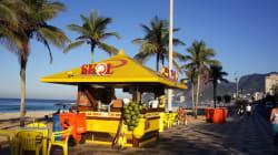 Praias cariocas sofrem com o desabastecimento de