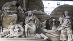 Il presepe di sabbia di Francesco (di P.