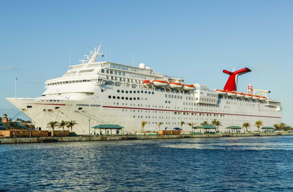 Carnival Fantasy cruise ship receives failing sanitation