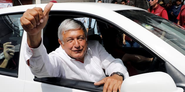 El candidato Andrés Manuel López Obrador.