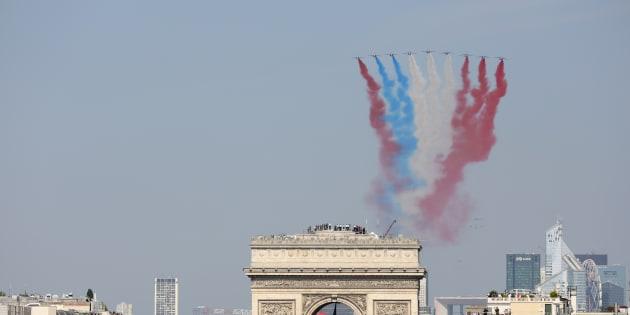 14-Juillet: la véritable raison du couac de la Patrouille de France