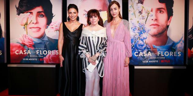 Aislinn Derbez, Veronica Castro y Cecilia Suarez
