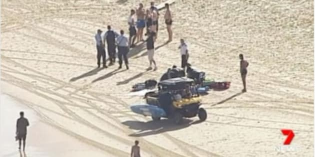 A 69-year-old male tourist has drowned at Bondi Beach.