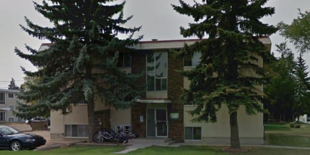 The children's bodies were found in an apartment in the Allen Manor building in Edmonton.