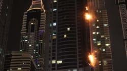 Fire Rips Through 'Torch Tower' Dubai