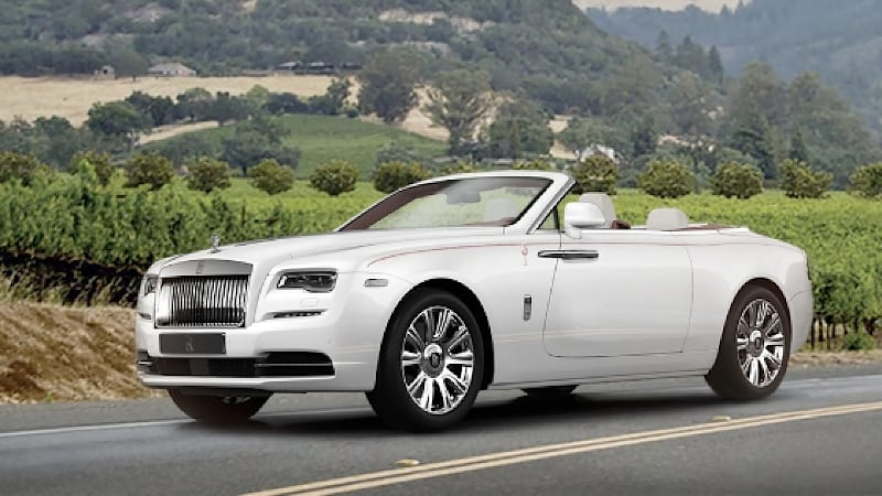 Rolls-Royce to auction first Dawn in America for charity