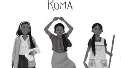 Con hermosas ilustraciones homenajean a Yalitza