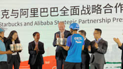 スタバ、出前始めます コーヒーブームに沸く中国で