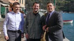 Pranzo a Portofino tra Salvini e