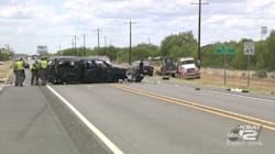 Texas Border Patrol Chase Ends In Crash, Killing At Least 5