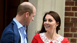 This Is What Will And Kate Said To Each Other Outside Lindo Wing, According To A Lip