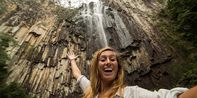 """Waterfalls are monumental and mesmerising -- and NSW has heaps of them."""