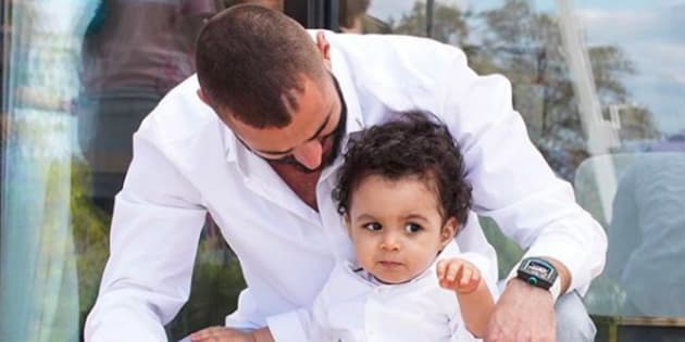 Sur Instagram, Karim Benzema a partagé une photo de son fils pour ses 1 an.