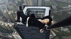 Stuntman si arrampica su un grattacielo per un farsi un video, lo pubblica e poi cade nel