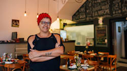 Dia 15: Márcia Monteiro e a arte de servir