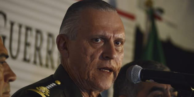 General Salvador Cienfuegos Zepeda, secretario de la Defensa Nacional.