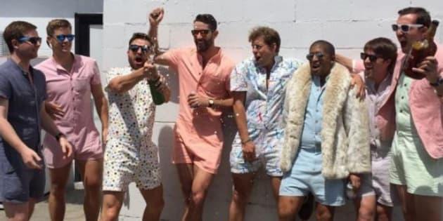 ACED, la marque américaine qui veut faire porter des combi-shorts à ces messieurs