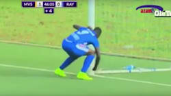 Rwandan Football Player Uses Witchcraft Mid-Game, Scores Goal, Causes Massive