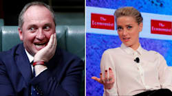 Amber Heard Is Gloating Over Barnaby Joyce's Citizenship