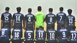 JNU Football Team Wears Missing Student Najeeb Ahmad's Name On Jerseys To Show