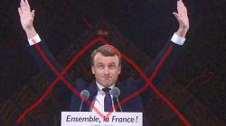 Les complotistes ont paniqué en voyant Macron devant la pyramide du