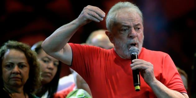 O ex-presidente Lula, em foto tirada em março de 2018.