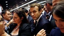 Macron ironise devant la presse: le bordel,