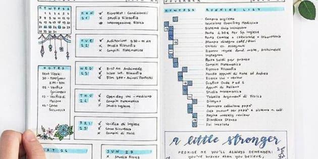 O bullet journal é um método analógico que além de ajudar na organização, é terapêutico