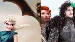 Un illustratore ha messo i personaggi della Disney all'interno di Game of Thrones. E il risultato è
