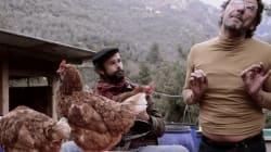 Le clip absurde de Cédric Herrou (l'agriculteur pro-migrants) au camping avec Didier
