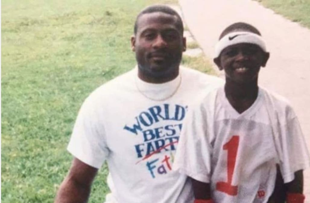 Athletes post sweet tributes to their dads, kids on Father's Day