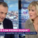 La respuesta de Pedro Duque que dejó a Susanna Griso con esta cara: no se lo podía