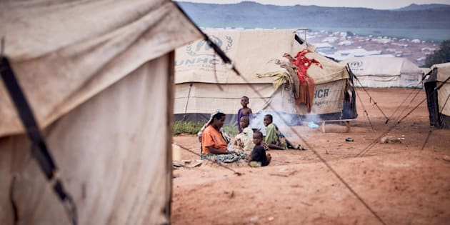 Rwanda. Mahama Refugee Camp. March 30, 2016.