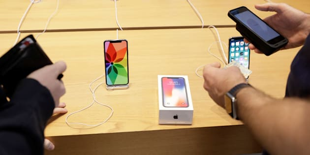 Apple présente ses excuses pour ses batteries (photo d'illustration).