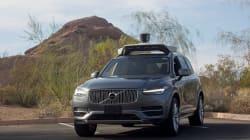 Une voiture autonome d'Uber impliquée dans un accident